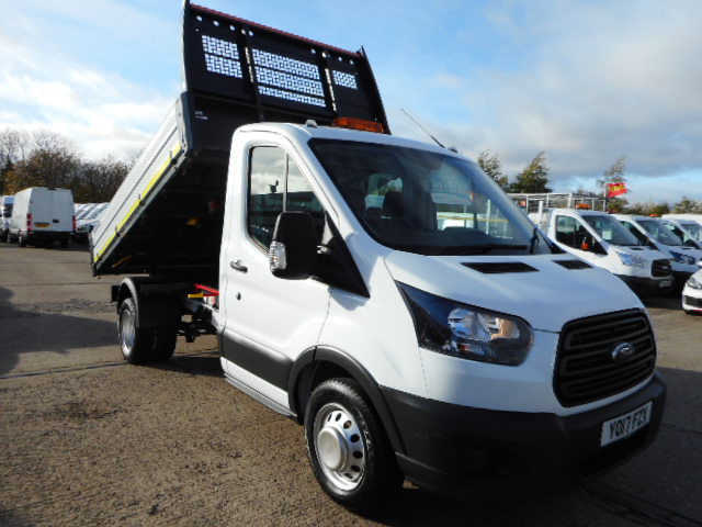 1943822ec3 2017 17 Reg FORD TRANSIT 350 2.0 TDCI 130 ps SINGLE CAB TIPPER EURO 6  £19495.00 PLUS VAT